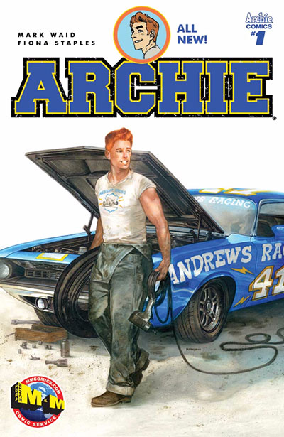 Archie cover by Dave Dorman available from M&M Comics
