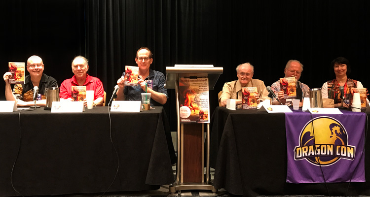Writers of the Future panel at Dragon Con