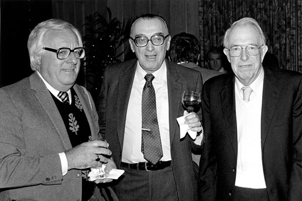 Ray Bradbury, A. E. van Vogt and Jack Williamson.
