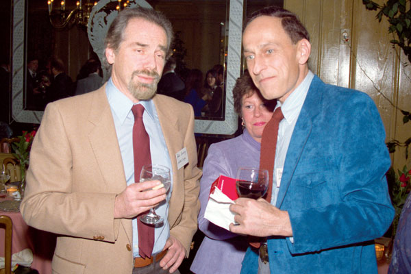 Robert Silverberg and Roger Zelazny