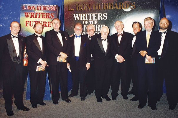 Dr. Doug Beason, Kevin J. Anderson, Dr. Jerry Pournelle, Larry Niven, Algis Budrys, Jack Williamson, Frederik Pohl, Tim Powers, Dr. Gregory Benford and Dave Wolverton