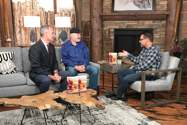 John Goodwin and Dave Farland on Park City TV with Joe Davis.