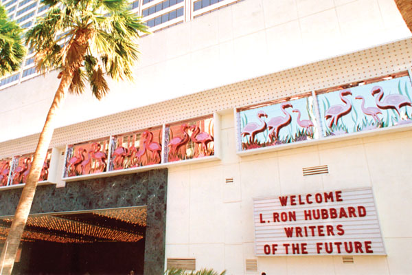 The Flamingo Hilton in Las Vegas, venue for the sixth Writers of the Future event.