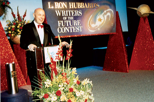 Astronaut Story Musgrave serves as guest speaker for the event.