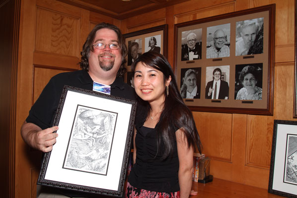 Jay Lake and Asuka Komai