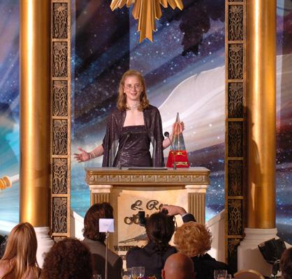 Golden Brush Award winner, Laura Diehl