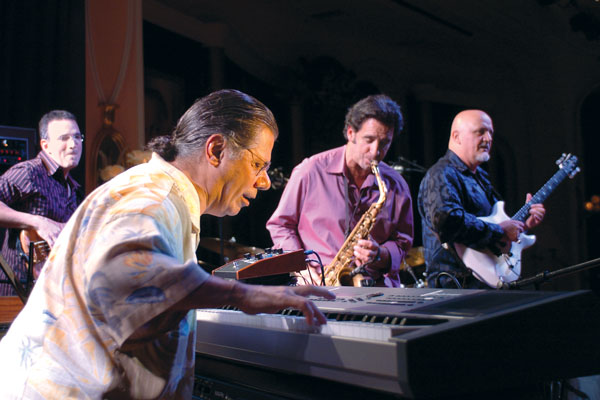 Chick Corea performing for the winners, judges and their guests.