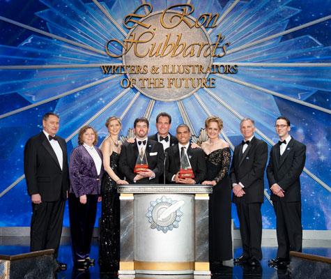 Gold Award Winners (center)