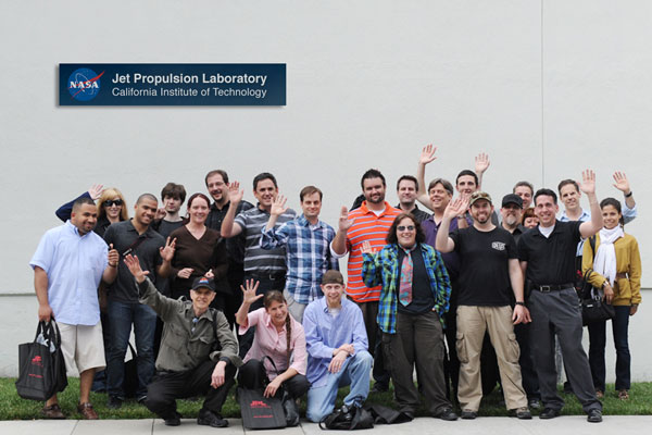 Field trip to Jet Propulsion Laboratory