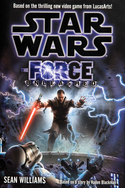 Star Wars: The Force Unleashed book cover