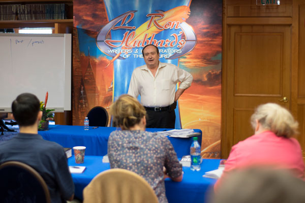 Eric Flint covers the subject of promotion during the Writers Workshop