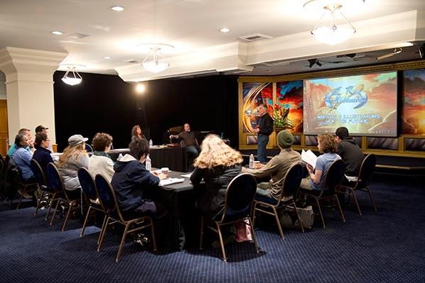 The Illustrator Workshop with art instructor Ron Lindahn.