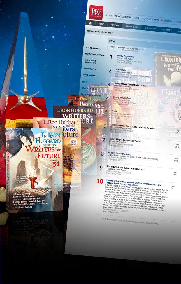 PW Bestseller List mobile
