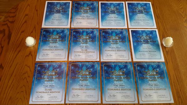 Wulf Moon's certificates