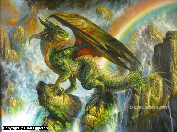 The Rainbow Dragon by Bob Eggleton