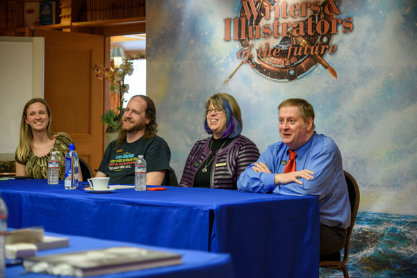 Darci Stone, Eric James Stone, Kary English, and Martin L. Shoemaker