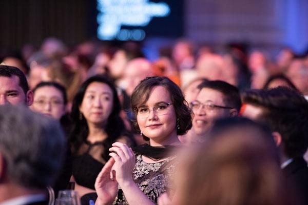 Jennifer Ober in audience.