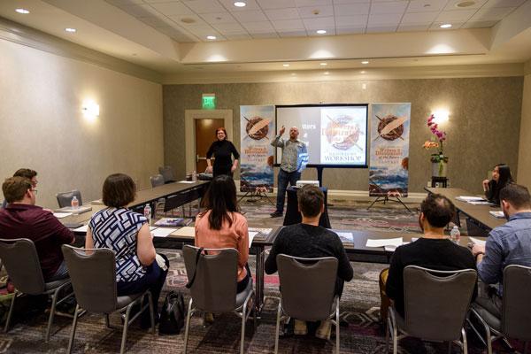 Echo & Lazarus Chernik, Workshop Instructors