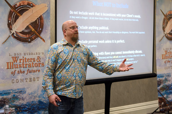 Lazarus Chernik, Workshop Instructor