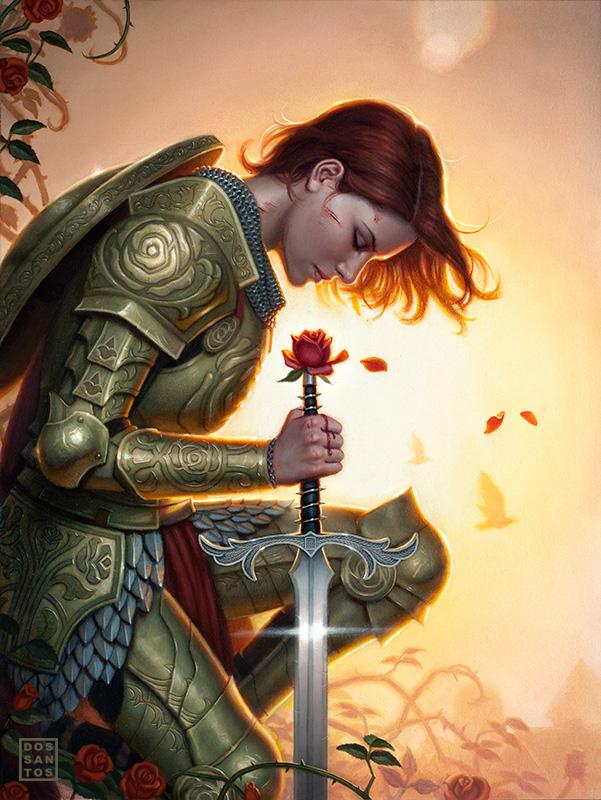 Rose Red by Dan dos Santos
