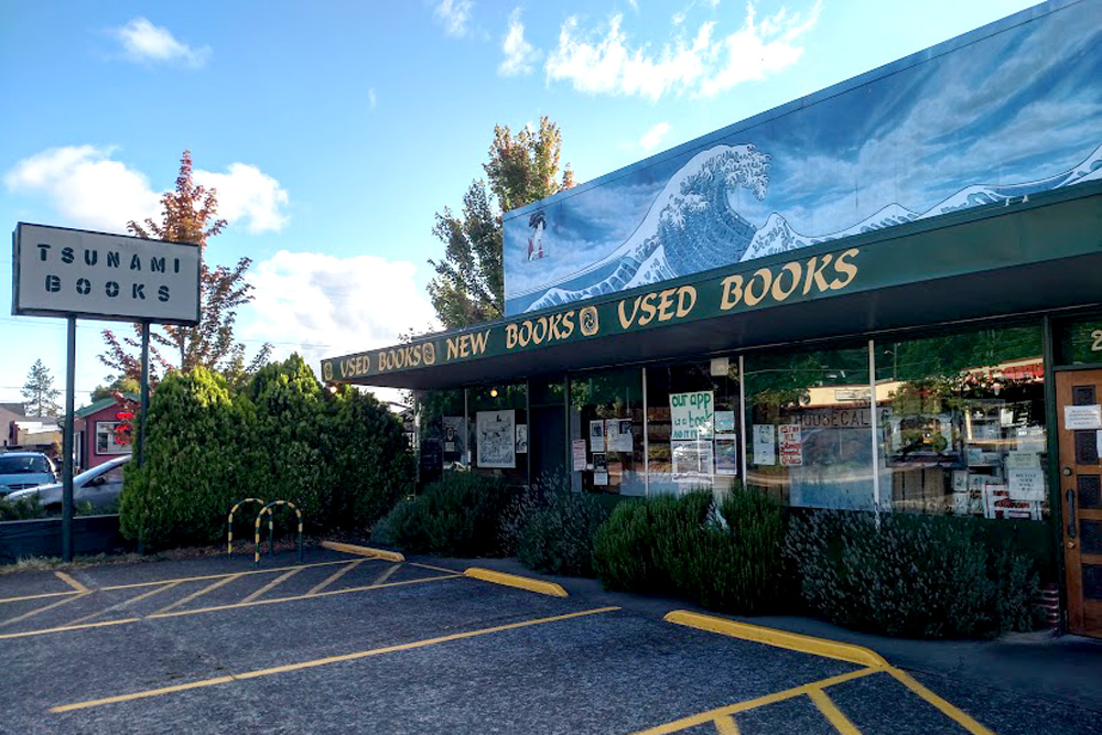 Tsunami Books: Where the Wordos Meet