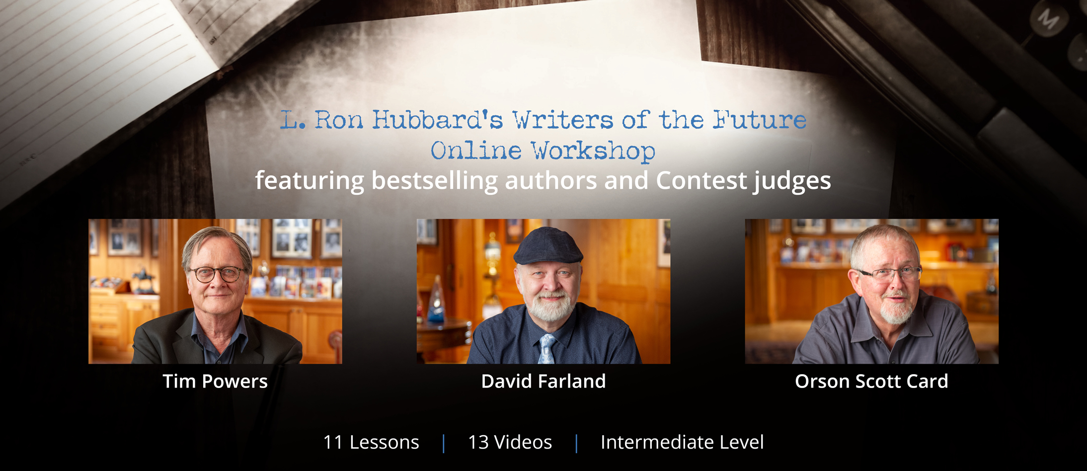 Online Workshop Banner Regisration Page
