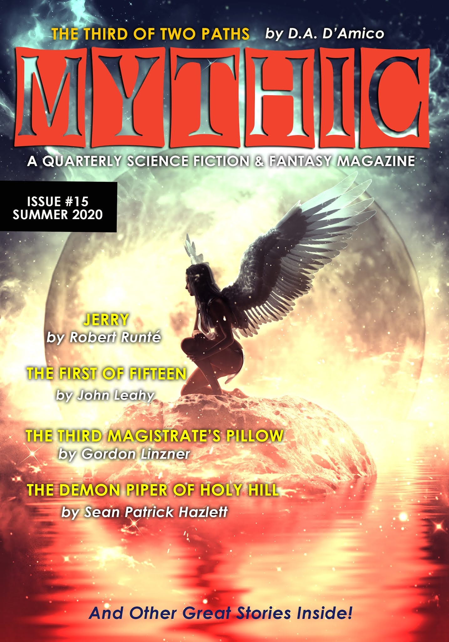 Mythic: A Science Fiction and Fantasy Magazine Issue 15