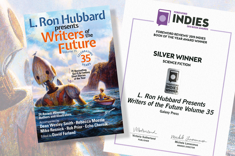 Writers of the Future Volume 35 Foreword Award