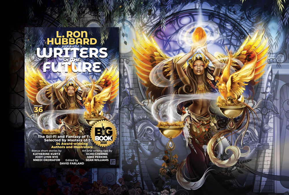 L. Ron Hubbard Presents Writers of the Future Volume 36 with NYC Big Book Award