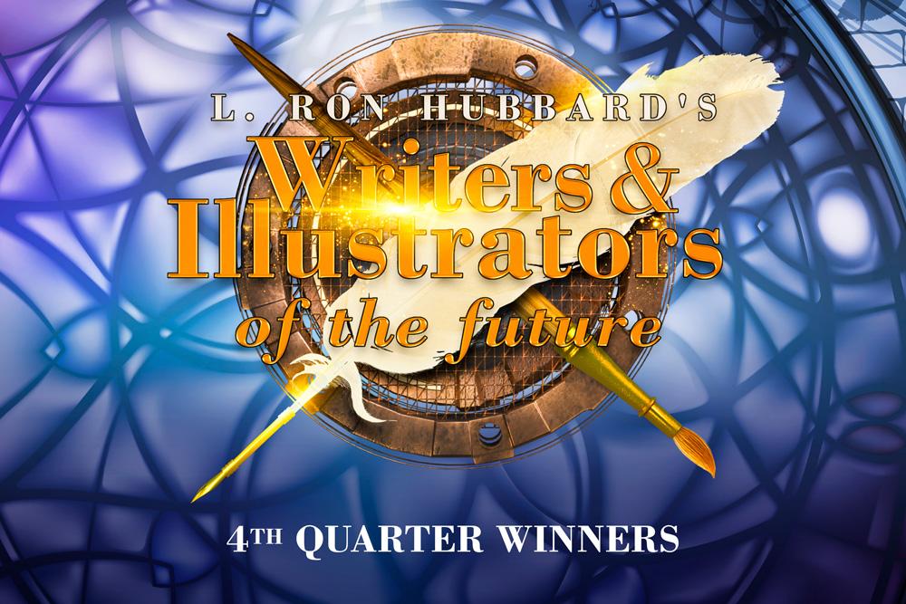 Writers & Illustrators of the Future 4th Quarter Winners