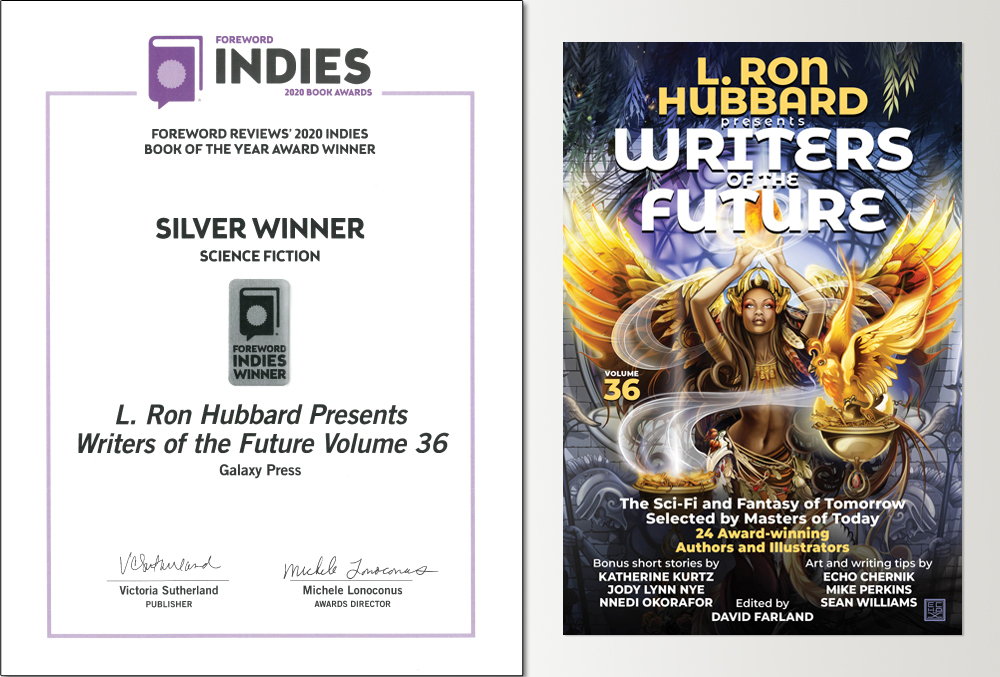 Writers of the Future 36 announced as Foreword INDIES winner