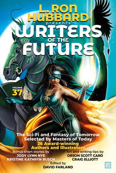 Writers of the Future Volume 37 trade paperback