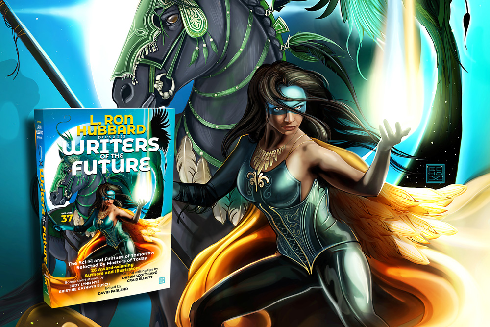 L. Ron Hubbard Presents Writers of the Future Volume 37 cover art revealed