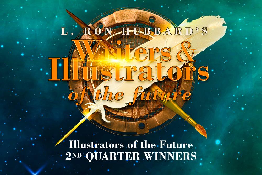Illustrators of the Future 2nd Quarter Winners