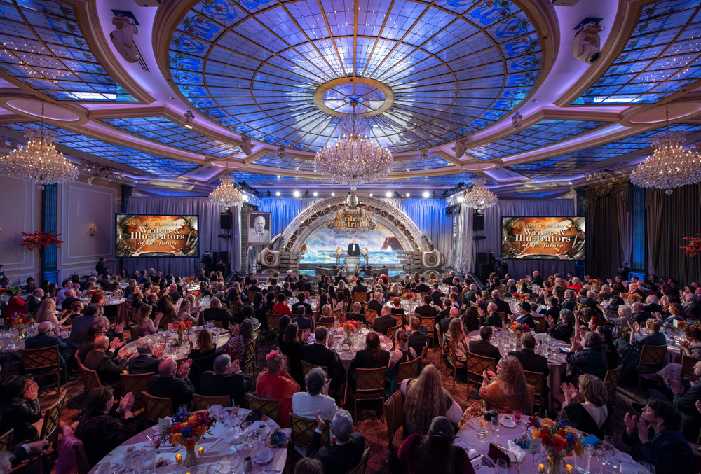 Attendees at the 35th L. Ron Hubbard Awards celebration