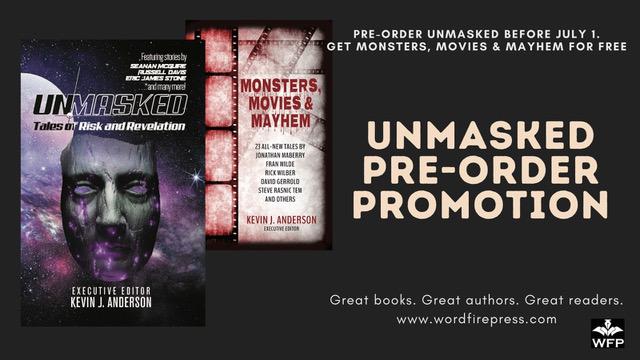 Unmasked pre order promo Twitter